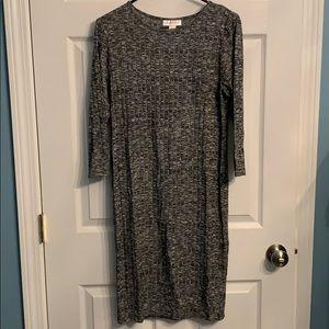 Destination Maternity 3/4 sleeve sweater dress